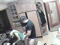 Girlfriend having sex on hidden camera amateur