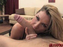 Busty Kayla Paige Goes For A Big Cock Ride