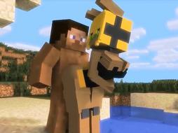 lekker Neuken in Minecraft supah en doet deugd beste game om op te fappen