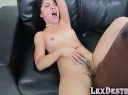 LEXDESTROYS - Yummy Stunner Kristina Rose Unbelievable Multiracial Hump