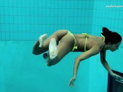 Zlata Oduvanchik underwater astounding nude honey