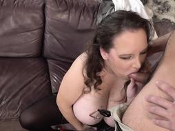 Huge-Titted mature bbw is having outstanding hump with a junior boy she enjoys a bunch
