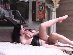 German brown-haired is just a bitchy first-timer who enjoys to tear up dudes as regularly as possible