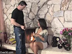 Persia Monir is railing her fresh paramour's spunk-pump after providing him a highly voluptuous oral