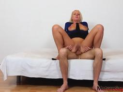 Luci Angel is a sloppy minded, blondie lady who loves to have horny fuck-fest with junior folks