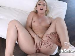 AJ Applegate - Adorable Towheaded Likes Get Jizz On Her Brown-Eye