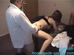 Unexperienced - Youthful chick gets it on the desk