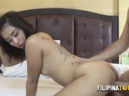 Filipina damsel likes the doggy-style to make jism the tourist quicker than ever during a hump excursion.
