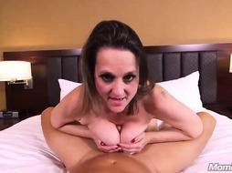 Kara is nude, mischievous and in the mood for a gonzo pummel and a jizz shot