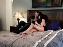 Killer mother, Ariella Ferrera is having gonzo lovemaking with her step- son-in-law, once in a while