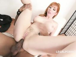 Lauren Phillips is a crimson haired fuck-stick dickblower who loves ebony stiffys more than anything else