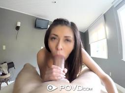 POVD Huge Penis Spa Intercourse Approach with Internal Ejaculation
