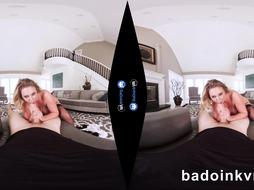 VR Pornography BUXOM Cougar Brooke Wylde Maid gets smashed by POINT OF VIEW on BaDoinkVR.com