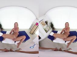 BaDoink VR Honeypot Shag And Rubdown For Naomi Nevena VR Pornography