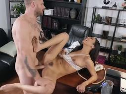 Gianna Dior is a mischievous brown-haired who doesn't care who is going to tear up her brains out