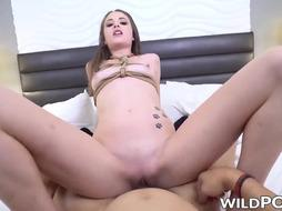 Cool nubile Kyler Quinn nailed with massive schlong in POINT OF VIEW