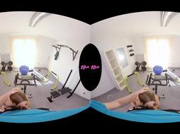 18VR.com Caboose, Gullet, And Labia Exercises For Daniella Margot