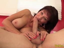 A Lengthy Stiff Boner Is Just What Mature Vanessa Videl Has Been Longing