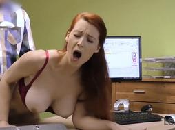 LOAN4K. Loan porno of Isabella Lui who hypnotizes boss with milk cans