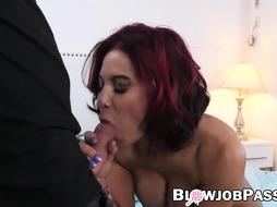 Sandy-Haired COUGAR Ryder Skye gargling sonnie