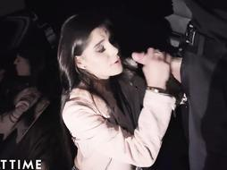 ADULT TIME Latina Teenager Katya Blows Corrupt Cop to Avoid Lockup
