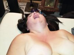 Luxurious PLUMPER Ravages her Hubby