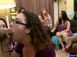 WOW my gf gets facialized by stripper