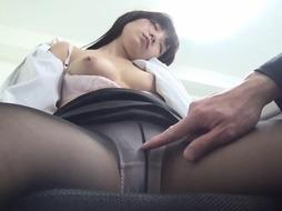 Fresh Asian assistant got inebriated and banged by force in the office by a mischievous co employee