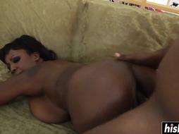 Sierra gets her little booty plowed