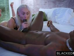 She lied to her milky bf for BIG BLACK COCK reasons