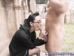 Spex british getting pulverized after oral pleasure
