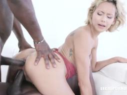 Racy Veronica Leal wants multiracial tear up with 2 ebony men that includes DOUBLE PENETRATION and double anal invasion at least