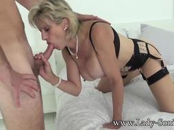 Mature Damsel Sonia Gets Rammed by A Xxl Meatpipe