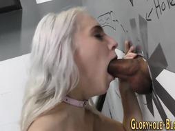 Platinum-Blonde at 2 Glory Crevasses Gets Jaws Spermed
