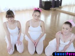 Deviant educator tempted into boinking timid nubile ballerinas