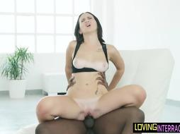 Huge-Chested European pussyfucked after orally pleasured