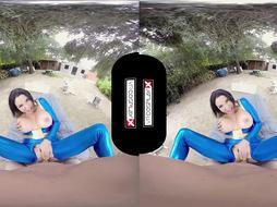 VRCosplayX.com Buxomy Latina Missy Martinez Smashes You In Fallout GONZO Parody