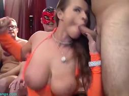 Real German swinger soiree with fantastic susi