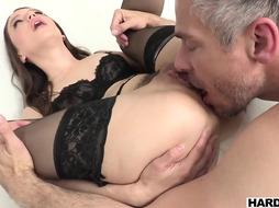 Colombian buttfuck paramour biotch in stellar underwear pulverized rock-hard