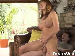 Krissy Lynn loves deepthroating and railing large stiff youthful lollipop