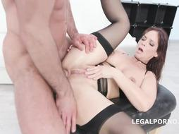 Syren De Mer is deep-throating boners and getting rammed the way she enjoys the most