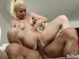 Swinger Wifey Nikki Delano Pounds a Married Fellow While Husbands Love Seeing