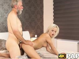 Blondie nubile getting ravaged by aged and hotwife her boy