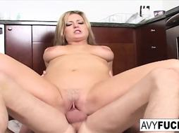 Big-Chested Avy Gets Humped