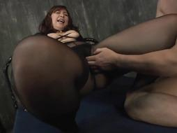 bodacious chinese COUGAR in a tights