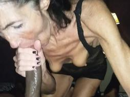 GILF and BIG BLACK COCK raw dt