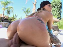 AJ Applegate is getting on all fours in front of her fantastic paramour and deep-throating his lollipop after assfuck fuck-fest