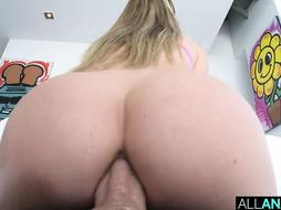 ALL ASSFUCKING Assfuck internal cumshot for Haley Reed and Leah Winters