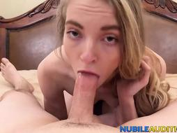 Glorious Teenie Screwed at Intercourse Casting POINT OF VIEW