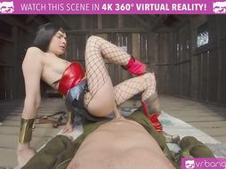 Outstanding Wonder Female costume play pulverize VR Pornography